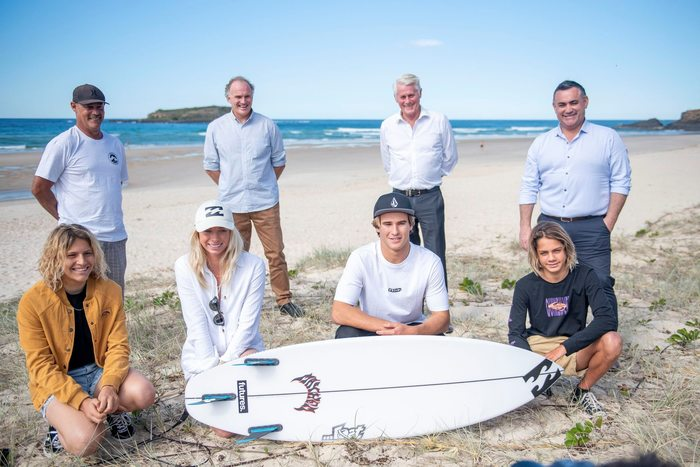 Top Australian Surfers line-up at Tweed Coast Pro thanks to NSW Government funding