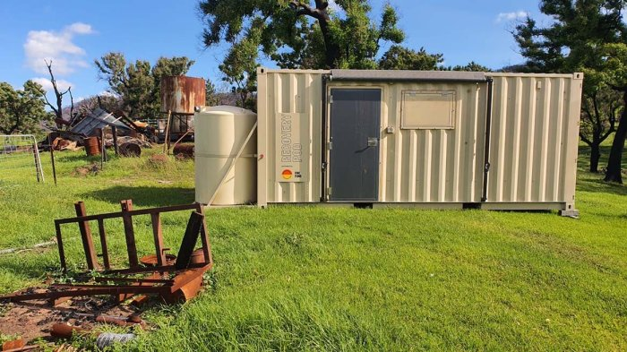 Temporary housing pods continue to roll out across NSW